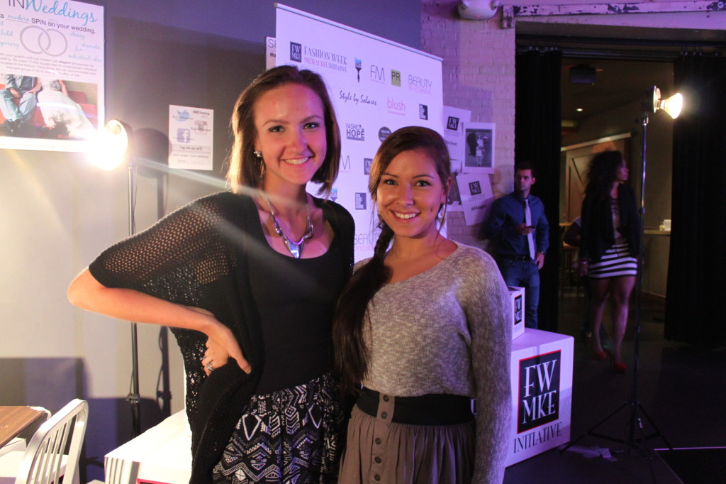 Ashley Romasko and Maria Deyoung