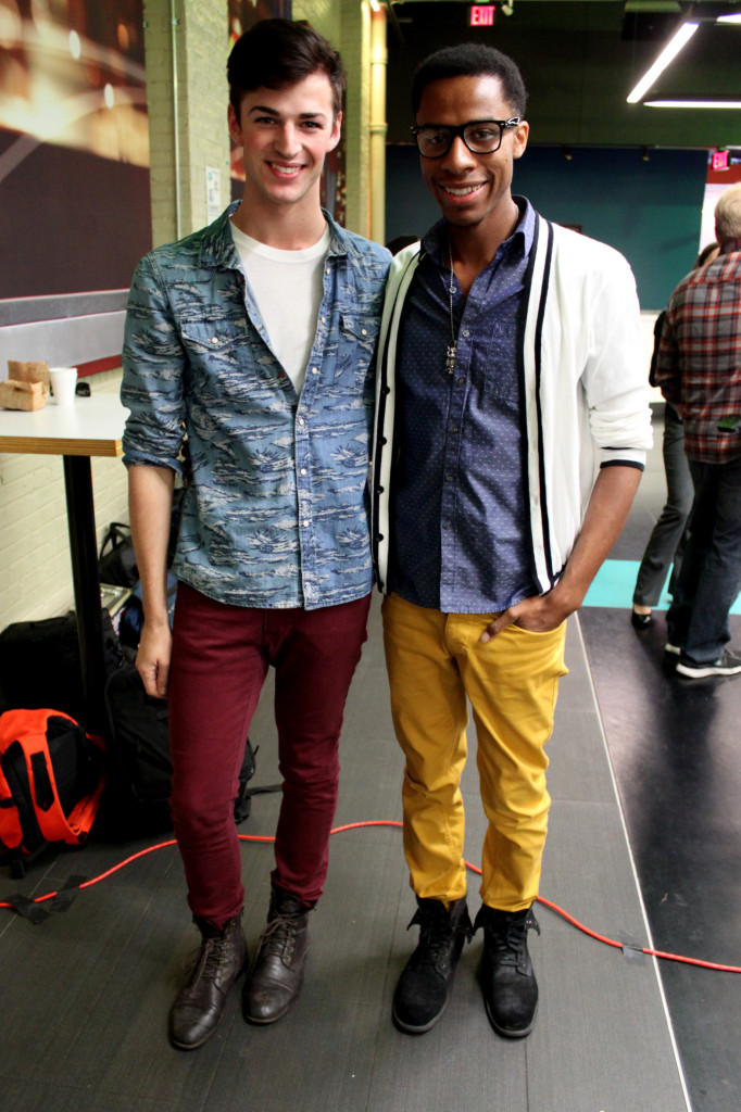 Ryan James and Lex Allen