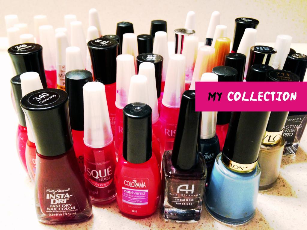 Part of my endless nail polish collection :)