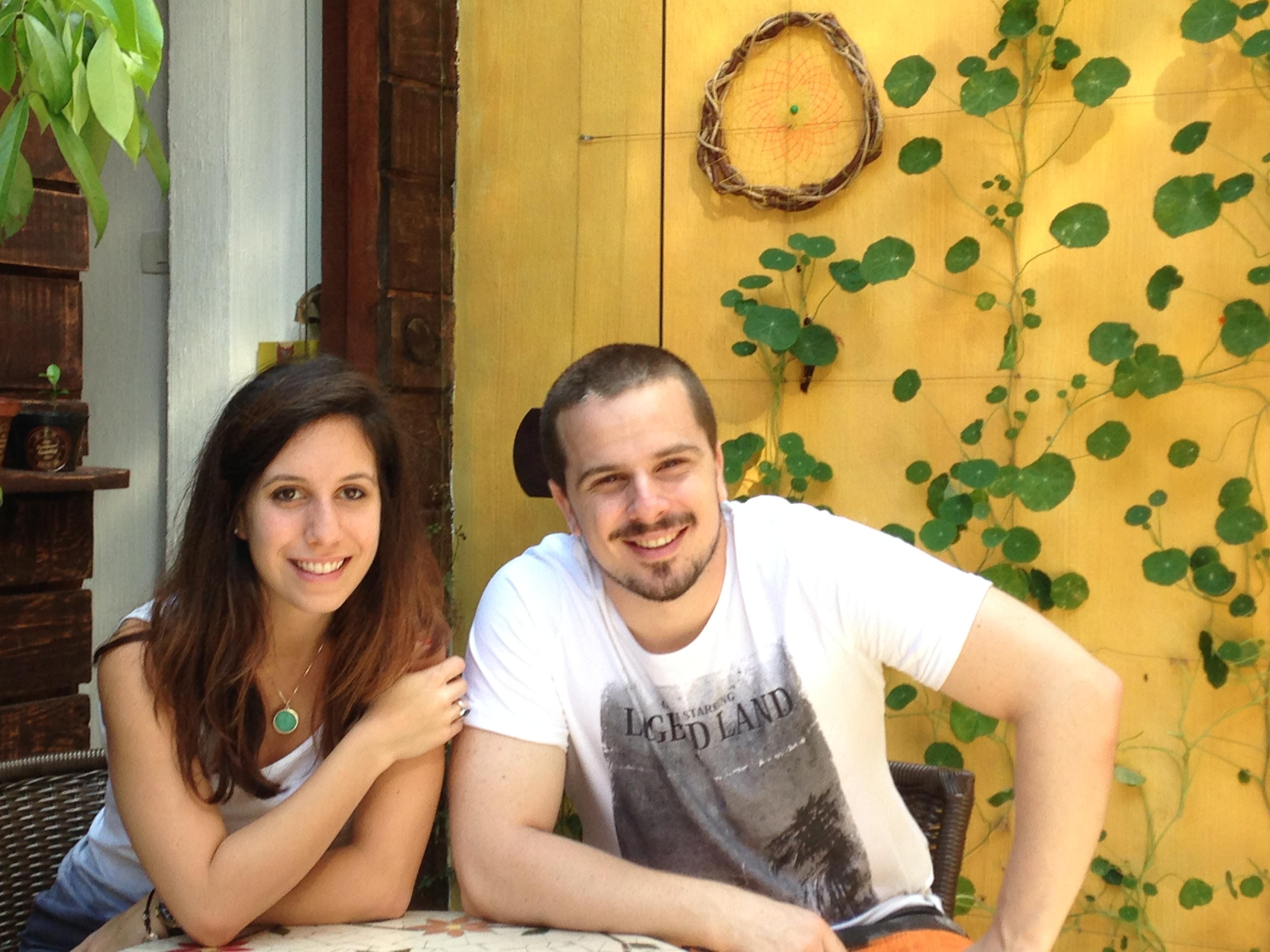 Eu e o chefe/primo Felipe Darin